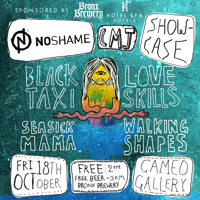 noshame-official-cmj-2013-showcase