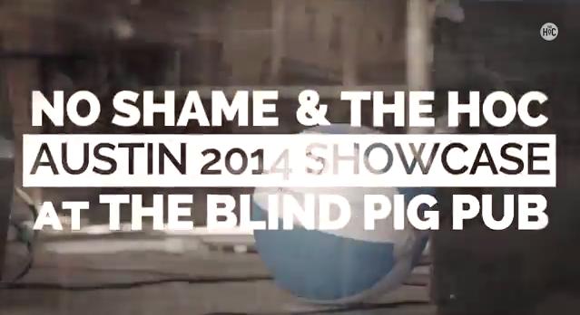 No Shame Austin 2014 showcase